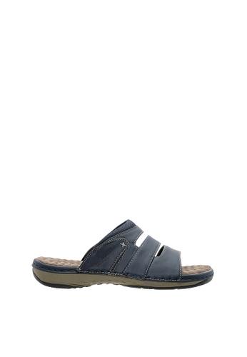 SEMBONIA blue SEMBONIA Men Synthetic Leather Sandal (Blue) SE598SH0SZ8GMY_1