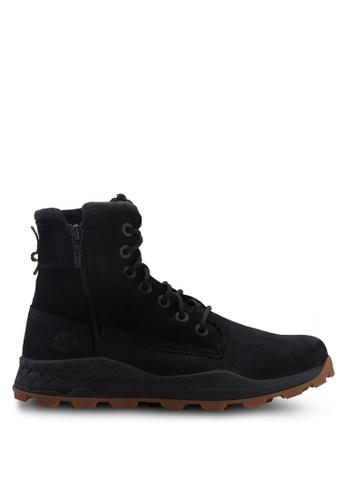 Timberland black Brooklyn Side Zip Boots 6EDA7SH389CA21GS_1