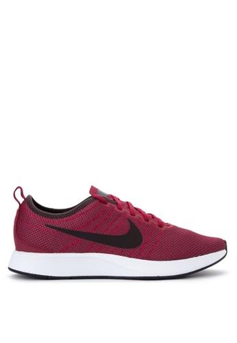 Nike black and white and red Men's Nike Dualtone Racer Shoes NI126SH0JI3APH_1