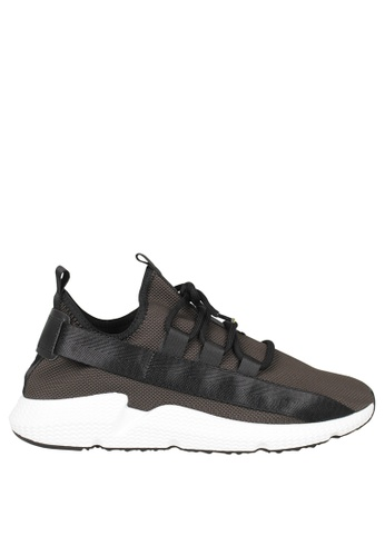 Tomaz brown Tomaz TR1006 Running Sneakers (Khaki) 32A41SHBD0A587GS_1