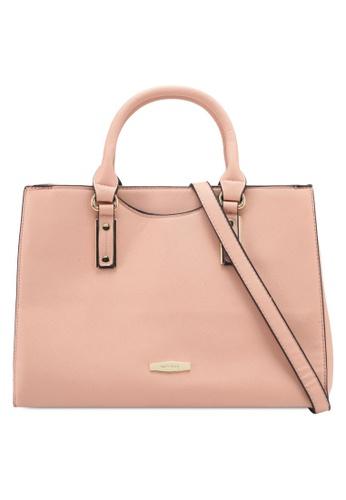 Perllini&Mel orange Faux Leather Satchel Top Handle Bag PE444AC0SIZLMY_1
