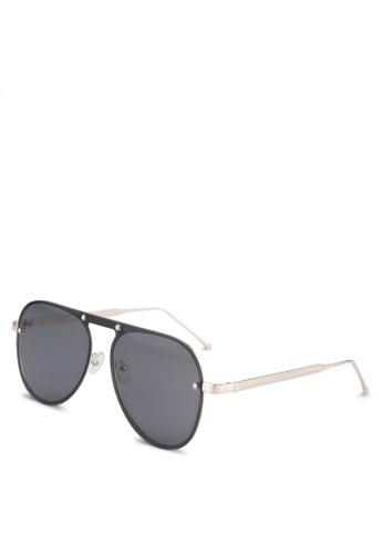 ALDO gold Nydoesen Sunglasses 7D2F0GLBDAC858GS_1