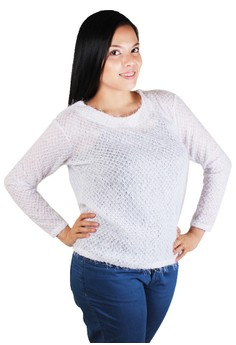 Loose Netted Sweater