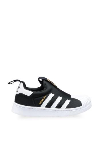 Adidas 黑色 superstar 360 c sneakers 7AA48KSBC6949AGS_1