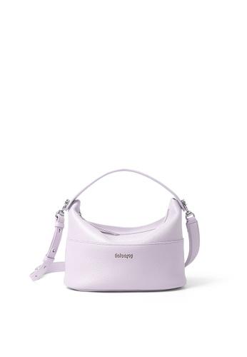 RABEANCO purple RABEANCO NINA Shoulder Bag - Lilac A89D1AC91E2F27GS_1