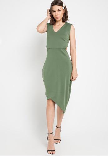CHANIRA LA PAREZZA green Chanira Tessa Dress 08081AAE9CF266GS_1