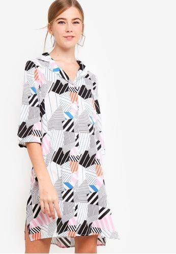 Something Borrowed white Resort Shirt Dress 9CF86AABC64D5EGS_1