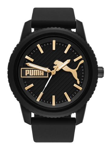 PUMA black Ultrafresh Watch P5082 4B865AC25DEBA9GS_1