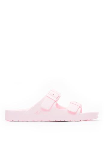 Life8 pink Casual Macaron Series Floating Cooling Slippers-09634-Pink LI283SH0GMA7SG_1