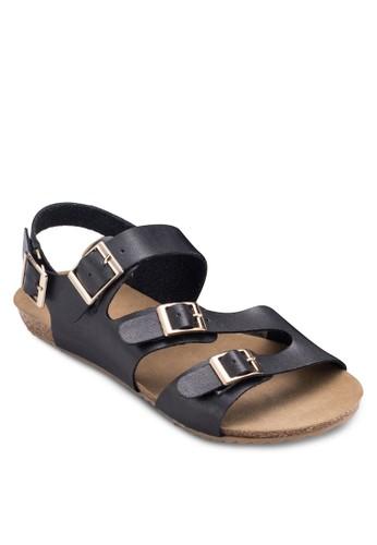 扣環帶esprit門市地址休閒涼鞋, 女鞋, 涼鞋