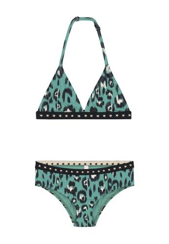 Shiwi green Luxe Leopard Triangle Bikini Set 92A56KA2F1C340GS_1