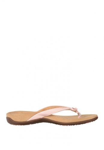Vionic pink Rest Bella II Toe Post Sandals D9A7CSHCBD8AF3GS_1