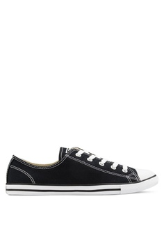 a14dfc3be0777c Converse black Chuck Taylor All Star Canvas Ox Women s Sneakers  CO302SH12GSTMY 1