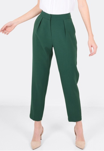 FORCAST green Nyssa Trousers FO347AA0GHTXSG_1