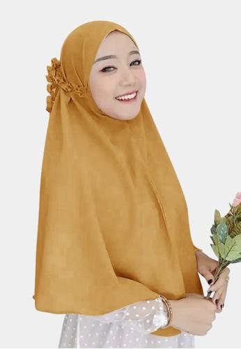zelena gold Hijab Instan Daily Bergo Kanisa Tali Kriwil - Sunglow 79D3DAAF852205GS_1