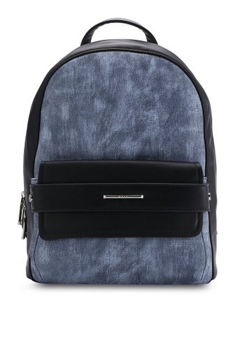 Nose blue Casual Backpack NO327AC66SOFMY_1