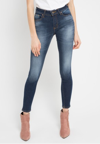 Lois Jeans blue Basic Skinny Stretch Denim Pants LO391AA0WO38ID_1