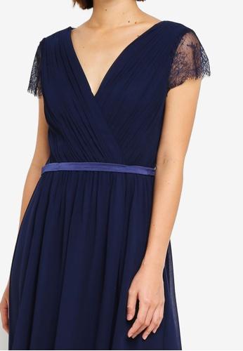 b2dac67088b6 Buy Dorothy Perkins Showcase Navy Athena Maxi Dress Online on ZALORA  Singapore