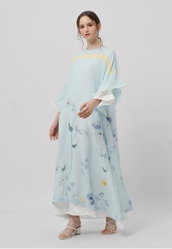 KNW blue Briana Dress Sky Blue C689DAAED8A9D4GS_1