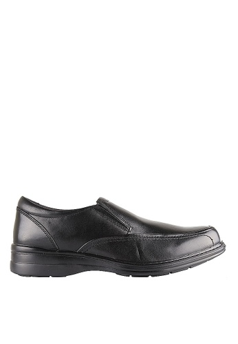 Hush Puppies Hush Puppies TRANSIT In Black HU319SH0H9EDSG_1