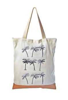 Tote Bag Palm Trees