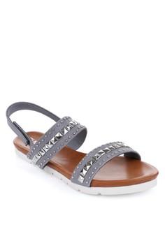 June Flat Sandals