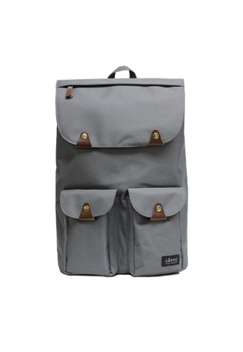 f39ed27a66f3 ideer grey Triango Series Taylor Earl Grey Water Repellent Nylon Laptop  Backpack ID808AC74YRHPH 1