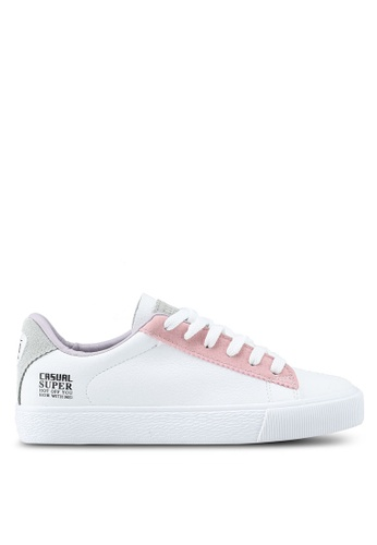 Twenty Eight Shoes white Macaron Color Sneakers A8F0BSH609299BGS_1