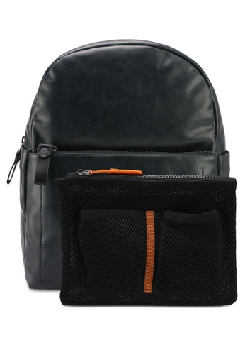 Calvin Klein green Campus Backpack - Calvin Klein Accessories 0D460AC35CD7FDGS_1