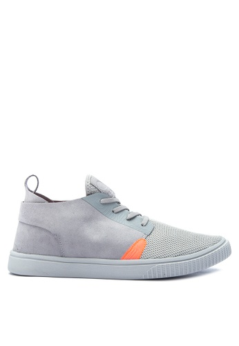 G&G grey Coolway Men's Sneakers GG012SH0K3MBPH_1