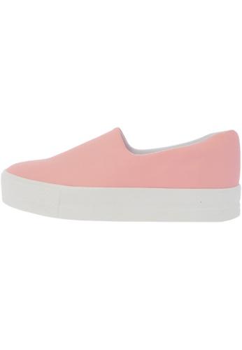 Maxstar C03 30 Synthetic Leather Platform Slip on Sneakers US Women Size MA168SH74DXLHK_1
