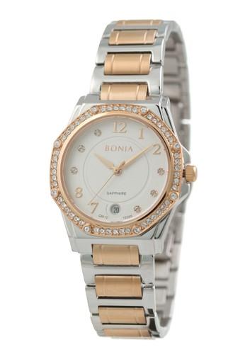 BONIA silver Bonia - BP10395-2615S - Jam Tangan Wanita - Silver Rosegold DF9C3AC3BE5F97GS_1