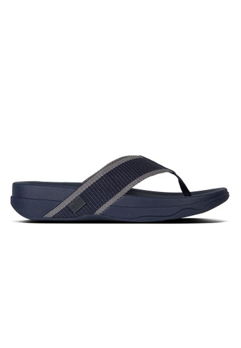 Fitflop blue Fitflop Surfer Midnight Navy/ Charcoal C5532SH951F858GS_1