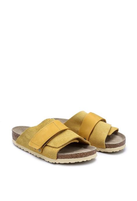 Birkenstock Kyoto SFB Soft Suede Sandals