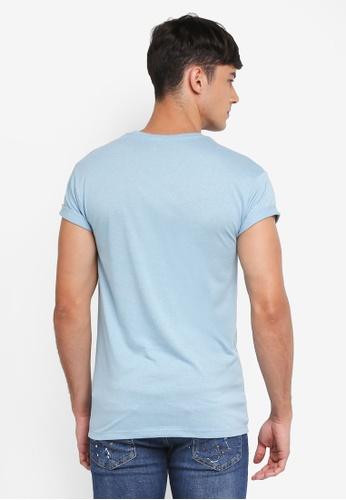1a0b671ed Buy Topman Muscle Fit Salt And Pepper T-Shirt Online | ZALORA Malaysia