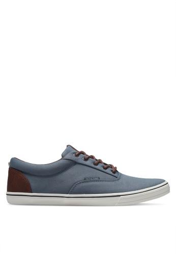 Jack & Jones blue Jfwvision Mixed Ss Citadel Sneakers A36C5SH15C9D37GS_1