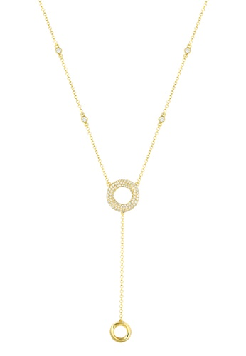 Vedantti yellow Vedantti 18k The Circle Trio-Max Necklace in Yellow Gold 73A10AC7260C44GS_1