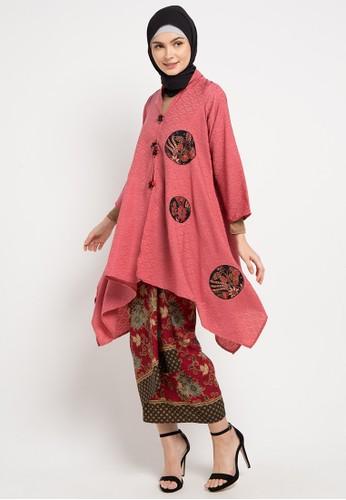 LUIRE by Raden Sirait pink and multi D-Riana Set A164BAA4492D19GS_1