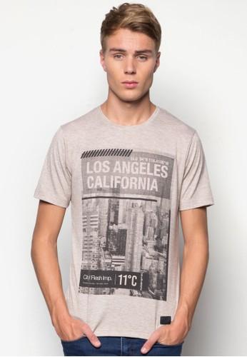 Angeles T-shirt, 服esprit holdings limited飾, 印圖T恤