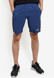 The North Face blue Reactor Shorts TH274AA25WKWMY_1