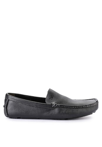 CARVIL black Carvil Sepatu Casual Dress Men Castrov Black E093BSH74FE474GS_1