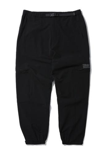 Fivecm black Safety belt pants 097BAAA6B87F19GS_1