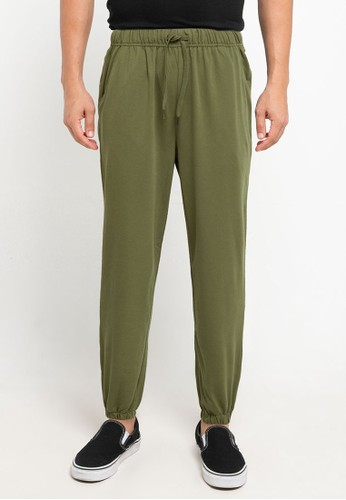 Tolliver green Jogger Pants 3125CAA257B854GS_1