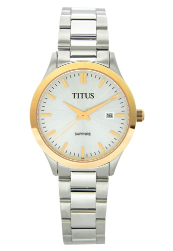 Solvil et Titus white and silver and gold Online Exclusive Men's Analogue Quartz Watch SO598AC70JARSG_1