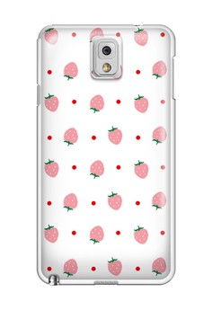Little Strawberries Glossy Hard Case for Samsung Galaxy Note 3