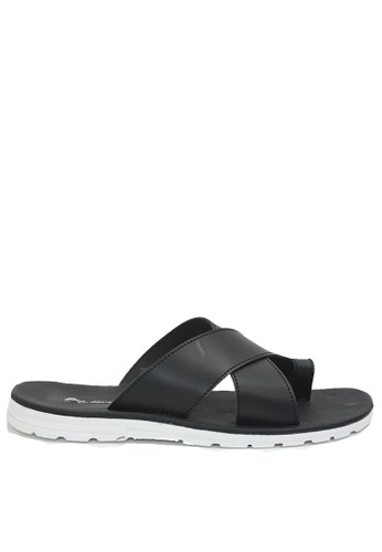 Dr. Kevin black Dr. Kevin Men Sandals 97211 - Black 36D41SH2FD810FGS_1