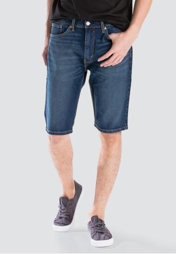 24cf090d4b Levi's blue Levi's 505 Regular Fit Shorts Men 28721-0019 7BEAEAAE51D7D1GS_1