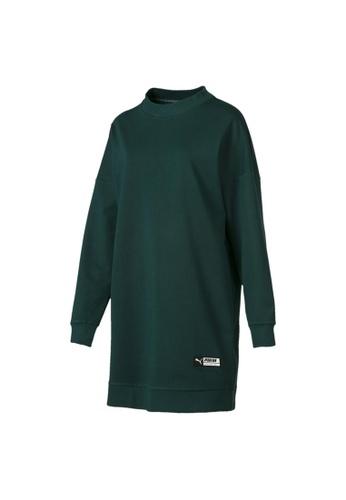 91243405db Trailblazer Women's Long Crewneck Sweatshirt