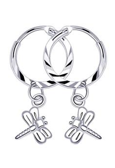 Dragonfly Loop Dangling Earring