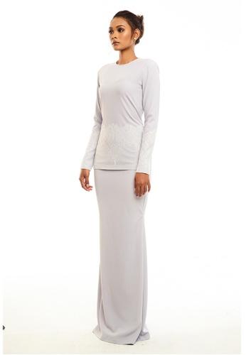 STARVILION white Estel Lace Kurung 63C88AA2555BE6GS_1